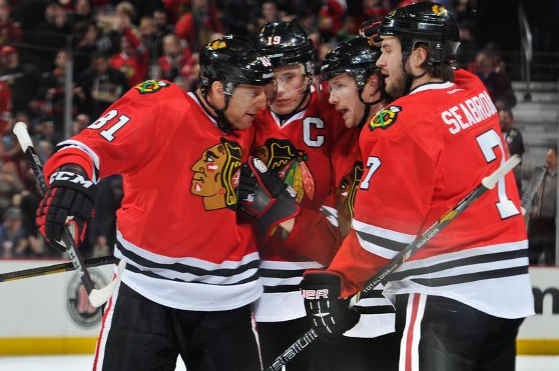Blackhawks defeat Blues 3-2 Tuesday night. (Photo via Blackhawks Facebook).