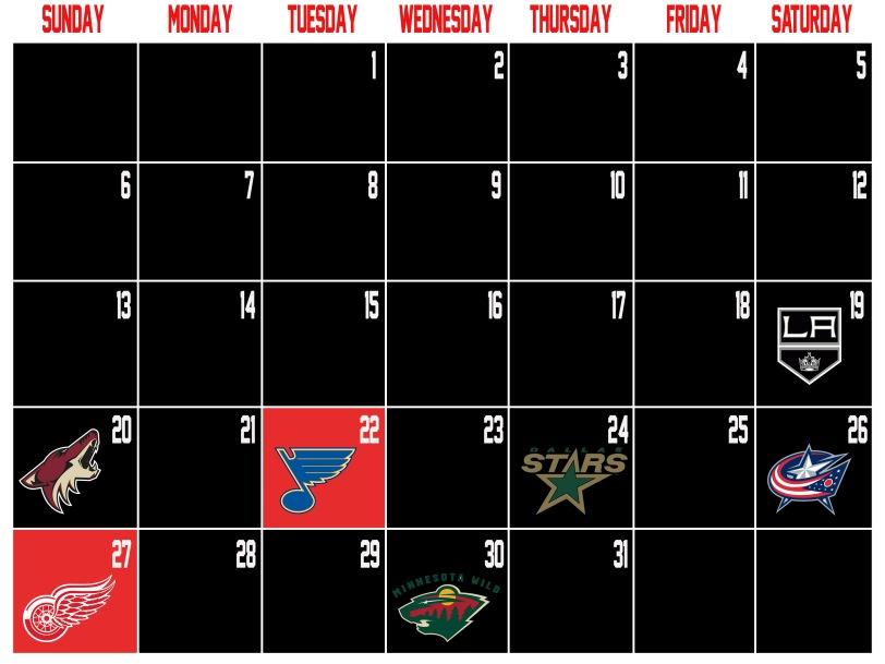 CalendarJanuary2013