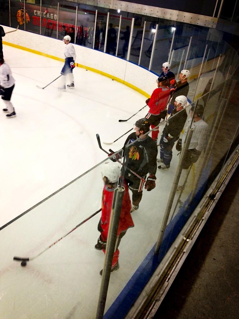 Hawks Practice 1/7/12