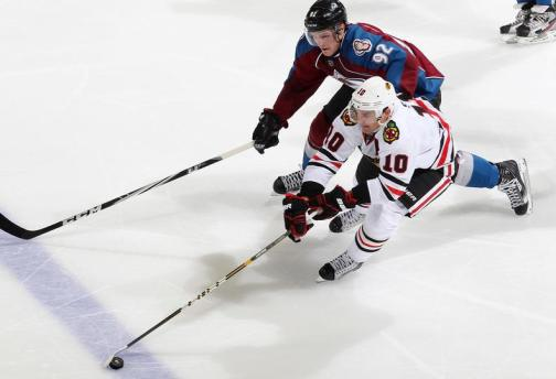 Blackhawks edged the Avalanche only once last season 3-1 in COL. (Photo via Blackhawks Facebook)